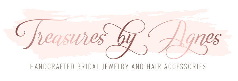 Shop the finest collection of handcrafted Bridal earrings, Bridal necklaces, Bridal bracelets and Wedding hair accessories.  Our collection features Swarovski crystals and pearls, cubic zirconia as well as a large selection of Rose gold Wedding jewelry and accessories.  Custom orders welcome !