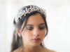 Swarovski crystal Leaf Tiara crown - Treasures by Agnes