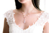 Rose gold statement backdrop necklace - DIVINE - Treasures by Agnes