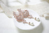 Art Deco Bridal statement earrings with pearl drops - EMMA - Treasures by Agnes