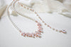 Pearl Bridal backdrop necklace