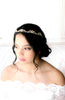 Antique gold Vintage style Bridal tiara headpiece - NAOMI - Treasures by Agnes