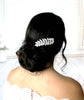 Swarovski crystal leaf bridal hair comb - ELSIE - Treasures by Agnes