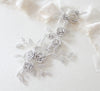 Rose gold Cubic zirconia Bridal hair vine headpiece - INNA - Treasures by Agnes