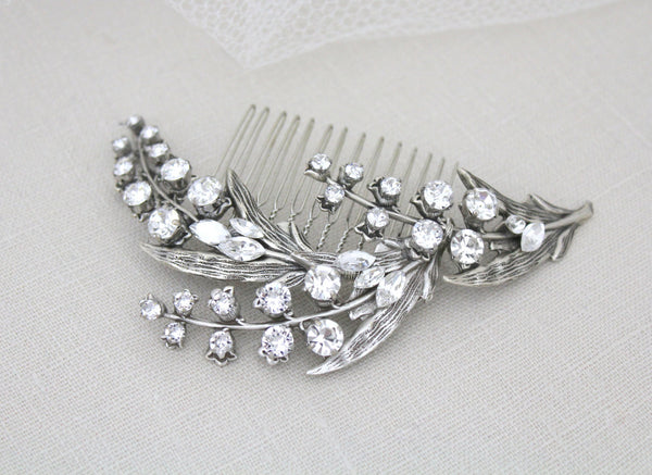 Lily of the Valley Bridal hair comb - Treasures by Agnes