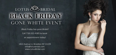 Lotus Bridal Black Friday Sale (Nov 25)