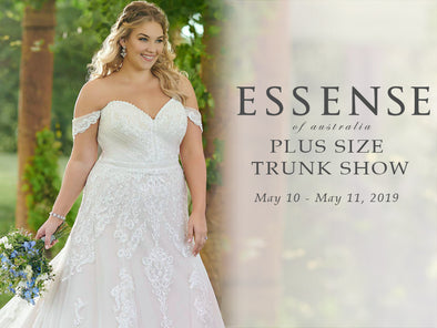 Essense of Australia Plus Size Trunk Show at Lotus Bridal Long Island!