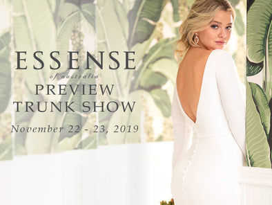 Essense of Australia Preview Trunk Show Happening in 2 days!