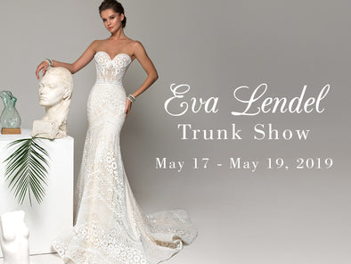 Eva Lendel's Debut Designer Trunk Show at Lotus Bridal Long Island – 3 Days ONLY!