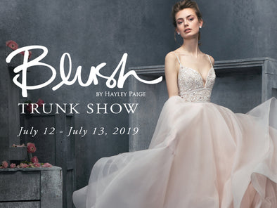 Blush by Hayley Paige Bridal Trunk Show from July 12 to July 13 at Lotus Bridal Long Island, New York