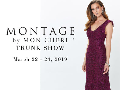 Montage by Mon Cheri Trunk Show Coming to Lotus Bridal Brooklyn March 22nd to 24th