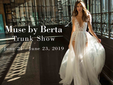 MUSE by Berta Trunk Show at Lotus Bridal Long Island: June 21st to 23rd