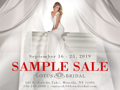 ANNUAL BLOW OUT SAMPLE SALE!!!