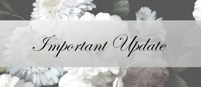 Important Update: Lotus Bridal Temporary Closure