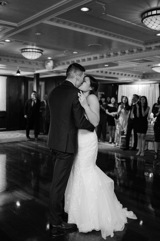 Nurse Peggy in Stunning Stella York Dress in New York First Dance