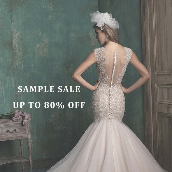 Lotus Bridal Wedding Bridal Sample Sale New York