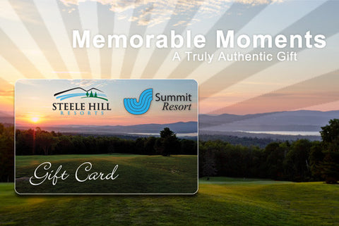 Steele Hill Resorts Gift Card