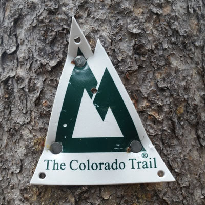 Colorado Trail Marker sign
