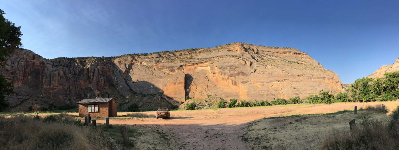 Dinosaur National Monument Echo Park Campground Camping