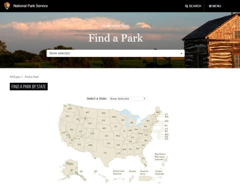 Find a Park National Park Service