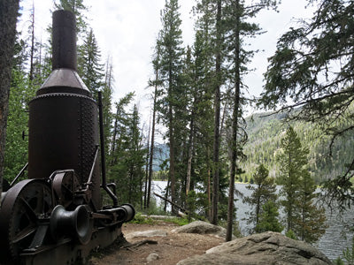 Monarch Lake Steam Donkey