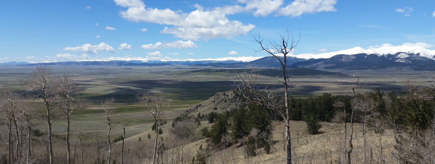 Kenosha Pass View of South Park Colorado