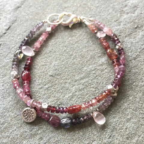Sadie Bracelet - December Mornings (spinel)