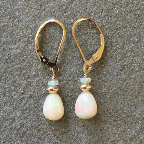 Gems - Sweetness & Light Earrings (opals)