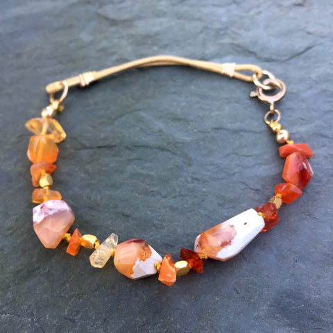 L&S - Set the World Ablaze (Mexican fire opal)
