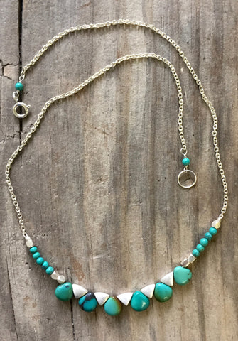 Collar Necklace - T&L A Perfect Fit (turquoise)