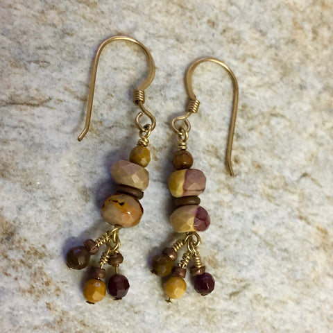 Matte - Red Hills Earrings (jasper)