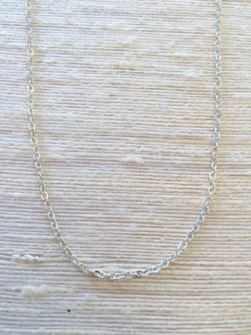 X-Sterling Silver Chain for Charms