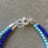 Mix & Match Stacking Bracelet 3: Lapis Lazuli & Boulder Opal