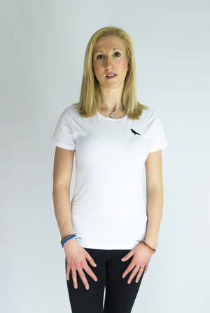 Womens Magni Basic Tee - White - MAGNI