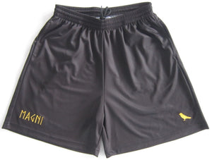 Black Sports Shorts - MAGNI