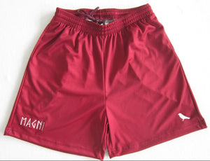 Maroon Sports Shorts - MAGNI