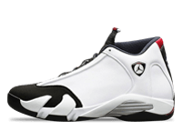 Air Jordan 14 Black Toe