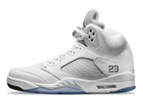Air Jordan 5 Metallic Silver