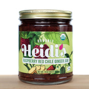 Heidi's Organic Raspberry Red Chile Ginger Jam