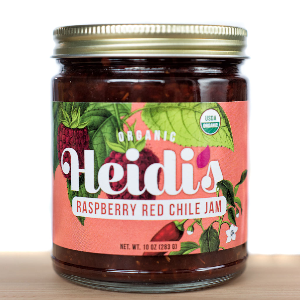 Heidi's Organic Raspberry Red Chile Jam