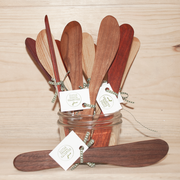 Handcrafted Wooden Jam Spreaders - Full Collection
