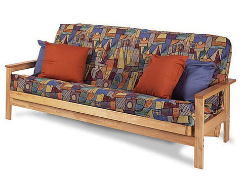 Albany Hardwood Futon Package in Full by Gold Bond