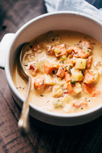 Seattle's Smoked Salmon Chowder