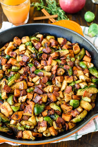 Fall Pork Tenderloin Skillet