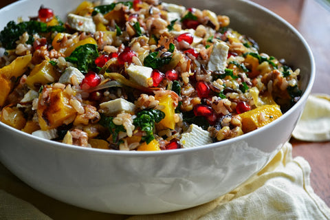 Wild Rice and Butternut Salad