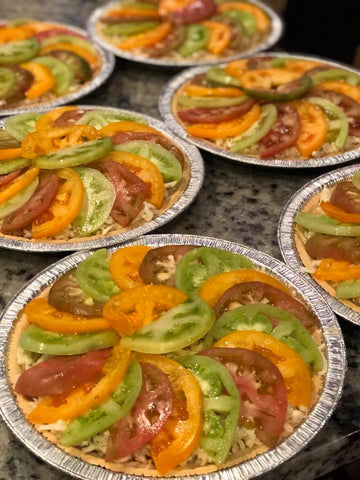 Heirlooom Tomato Pie