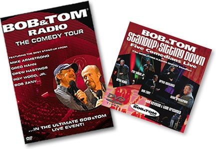 BOB & TOM RADIO - THE COMEDY TOUR Vol. 1 DVD