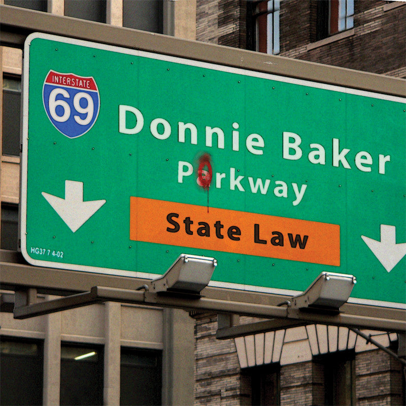 STATE LAW feat. Donnie Baker - CD – The BOB & TOM Show Store