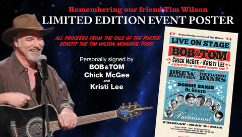 Tim Wilson Memorial Fund Autographed Event Poster