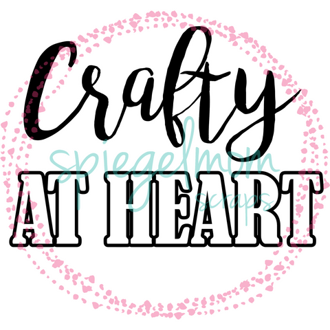 Crafty at Heart by Virginia Walker